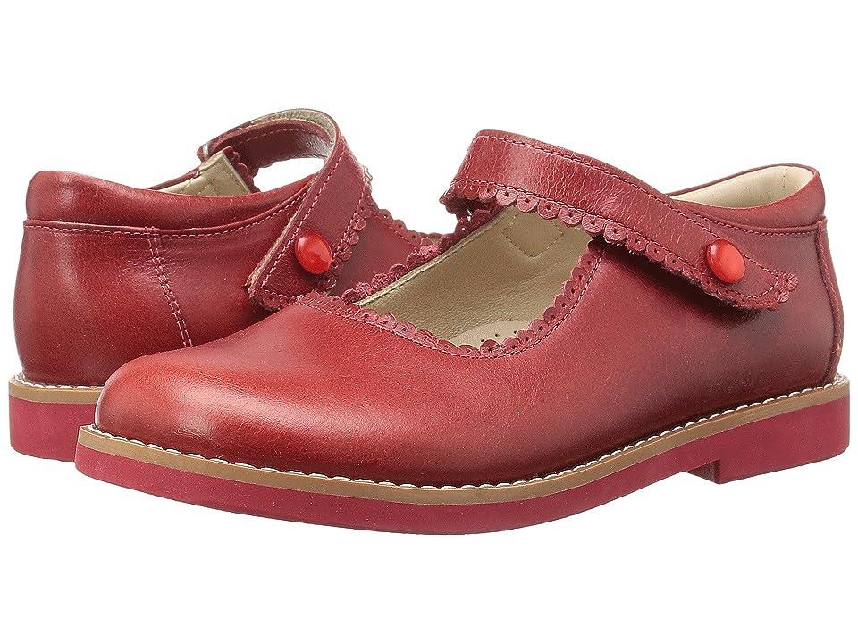 Elephantito Mary Jane (Toddler/Little Kid/Big Kid) (Chili Red) Girls Shoes