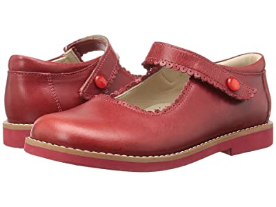 Elephantito Mary Jane (Toddler/Little Kid/Big Kid) (Chili Red) Girls Shoes