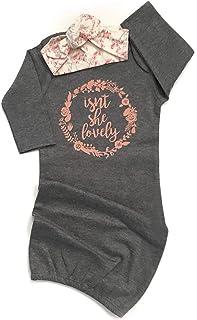 dafd8487b78e Amazon.com  3-6 mo. - Nightgowns   Sleepwear   Robes  Clothing ...