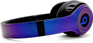 Beats by Dre Solo 3 Wireless - Custom Dr. Dre Headset - Design (Chameleon Blue/Purple)