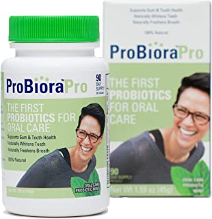 ProBioraPro (formerly EvoraPro) Oral Probiotic Mints | Support Healthy Teeth and Gums | Freshen Breath | Whiten Teeth | 90 Day Supply (90g)