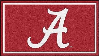 FANMATS NCAA Alabama Crimson Tide 3 Ft. x 5 Ft. Area RUG3 Ft. x 5 Ft. Area Rug, Red, 3' x 5' (19761)