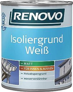 Isoliergrund Weiss Holz 2,5 L Renovo