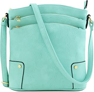 1db0ffad65 Amazon.com  Greens - Crossbody Bags   Handbags   Wallets  Clothing ...