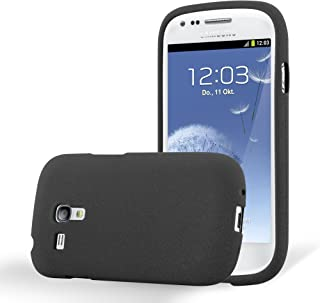 dbafe55b4c9 Cadorabo Funda para Samsung Galaxy S3 Mini en Frost Negro - Cubierta  Proteccíon de Silicona TPU