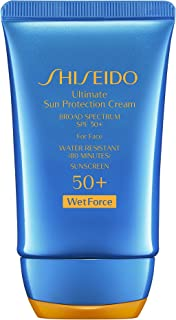 Shiseido Ultimate Sun Protection Cream SPF 50+ Wetforce, 2 Ounce