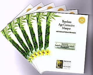 Eminence Bamboo Age Corrective Masque Card Sample Set of 6 Travel Size