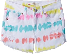 Sunrise Denim Shorty Shorts (Little Kids)