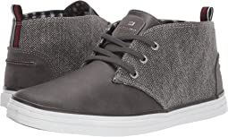 Dark Grey Canvas/PU