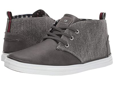 Ben Sherman Bulldog Chukka (Dark Grey Canvas/PU) Men
