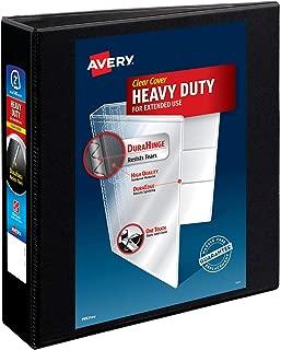 Avery Heavy-Duty View 3 Ring Binder, 2