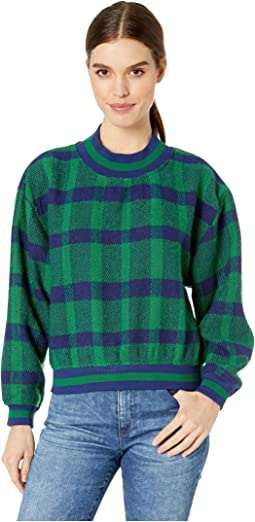 Green/Navy Plaid