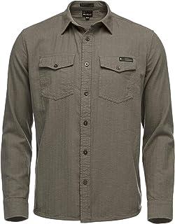 Sentinel LS Flannel Shirt - Men's Walnut Heather Small