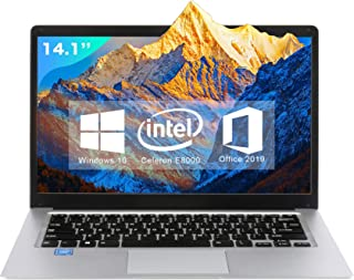 【Microsoft Office 2019搭載】パソコン初心者向け 学生向け【Win 10搭載】高性能CPUインテルAtom x5 Z8350 1.5GHz/メモリー:4GB/SSD:64GB/14.1インチ/モバイルサイズ コンパクトWeb...