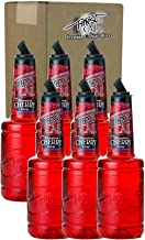 Finest Call Premium Cherry Syrup Drink Mix, 1 Liter Bottle (33.8 Fl Oz), Pack of 6