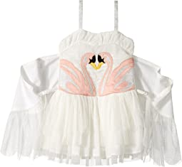 Stella McCartney Kids - Bonny Winged Swan Tulle Dress (Toddler/Little Kids/Big Kids)