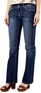 Women's Juniors Luscious Curvy Stretch Denim Bootcut Jeans (30