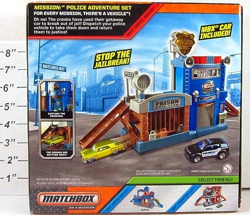 2003 Matchbox on a Mission  Police Adventure Set