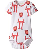 mini rodini - Frogs Short Sleeve Bodysuit (Infant)