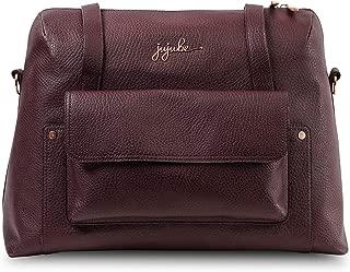 JuJuBe Wherever Weekender Vegan Leather Travel Bag, Ever Collection - Plum