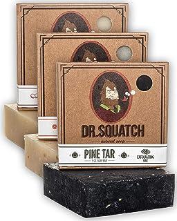 Sponsored Ad - Dr. Squatch Men`s Soap Sampler Pack (3 Bars) – Pine Tar, Cedar Citrus, Bay Rum Bars – Natural Manly Scented...