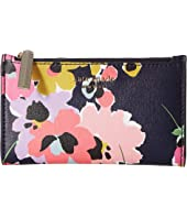 Kate Spade New York - Sylvia Wildflower Bouquet Small Slim Bifold Wallet