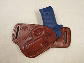Braids Holsters Springfield Armory 911 380 Cal. S.O.B. Owb Brown Leather R Hand