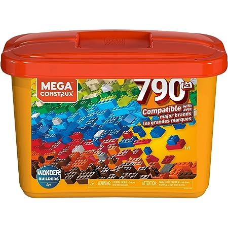 Mega Construx Juguete Bloques Mega Caja de Construcción de 790 piezas