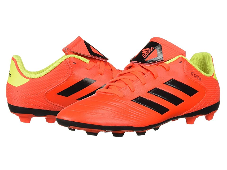 adidas Kids Copa 18.4 FXG Soccer (Little Kid/Big Kid) (Red/Black/Yellow) Kids Shoes
