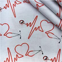 DIY Gezonde verpleegster polyester katoenen stof voor weefsel kinderen thuis textiel voor naaiende pop doek, voor naaien, ...