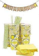 LENNONade MINI Girls Hair Bow Headbands Set of 4  Summer Bows  Lemonade Party Lemonade Stand When Life Gives you Lemons Ready to Ship