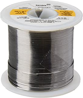 "KESTER SOLDER 24-6040-0027 Wire Solder, 0.031""Dia., Pack of (1)"