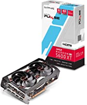 Sapphire 11296-01-20G Radeon PULSE RX 5600 XT 14GBPS 6GB GDDR6 HDMI / TRIPLE DP OC w/ backplate (UEFI) PCIe 4.0 Graphics Card
