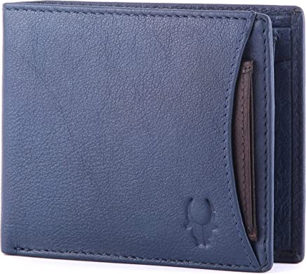 WildHorn Blue Leather For Men - Bifold Wallets