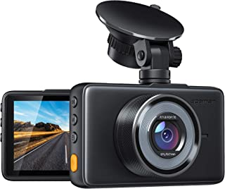 APEMAN Dash Cam 1080P FHD DVR Car Driving Recorder 3 Inch LCD Screen 170° Wide Angle,..