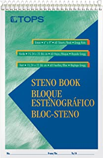 Tops Steno Books, 6