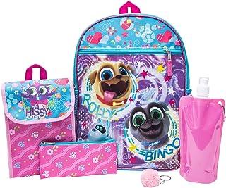 PuppyDog Pals Backpack Combo Set - Disney Puppy Dog Pals Girls 6 Piece Backpack Set