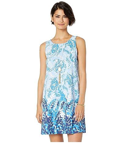 Lilly Pulitzer Kristen Dress (Blue Peri Turtley Awesome Engineered Kristen Knit Dress) Women