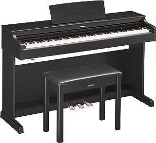 Yamaha YDP163B Arius Series Console Digital Piano with Bench, Black Walnut