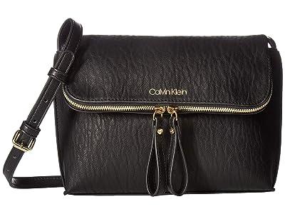 Calvin Klein Elaine Bubble Lamb Novelty Crossbody (Black) Cross Body Handbags