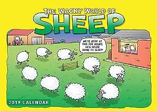 Wacky World of Sheep A4 2019