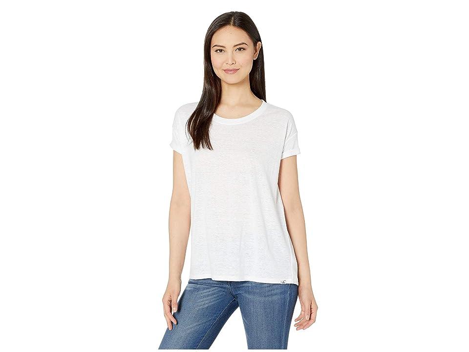 Prana Cozy Up T-Shirt (White) Women