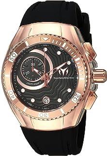 [テクノマリーン]TechnoMarine 腕時計 'Cruise' Quartz Stainless Steel and Silicone Casual TM-115382 レディース [並行輸入品]