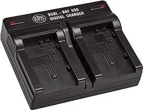 BM BP809 BP819 BP820 BP827 BP828 Dual Bay Battery Charger for Canon Vixia HF G50 HF G60 XA40 XA45 XA50 XA55 GX10 HFG20 HF G21 HFG30 HFG40 HFM41 HFM400 HG20 HG21 XA10 XA11 XA15 XA20 XA25 XF400 XF405