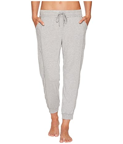 Splendid Always Crop Lounge Jogger (Light Heather Gray) Women