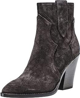 ASH Women's Esquire Suede Cowboy Boots Brown