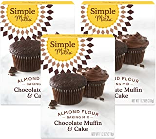Sponsored Ad - Simple Mills Almond Flour Baking Mix, Gluten Free Chocolate Cake Mix, Muffin pan ready, Made with whole foo...