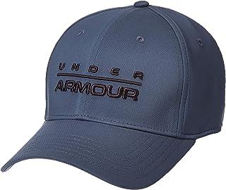 قبعة مرنة بطباعة للعلامة التجارية من اندر ارمور للرجال