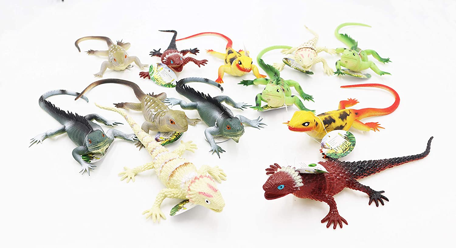 National products Jumbo Lizard Toys 12 PCS Set L We OFFer at cheap prices Realistic 11''