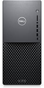 Dell XPS 8940 Tower Desktop Computer, Intel Octa-Core i7-10700 Up to 4.8GHz, 16GB DDR4 RAM, 1TB HDD, WiFi 6, Bluetooth 5.1, USB Type-C, HDMI, Keyboard and Mouse, Windows 10